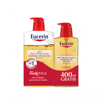 eucerin ph5 oleogel de ducha family pack